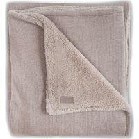 Jollein Deken100x150cm Natural Knit Teddy - Sand