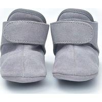 Lodger Leren Babyslofjes 12-15m Light Grey