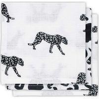 Jollein Hydrofiel Monddoekje - Leopard Black White