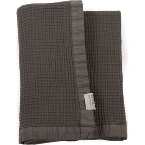 Stapelgoed Plaid Waffel Ghost Grey 100x150