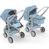 Greentom Upp 2in1 Grijs-Sky Limited Fabric Collection (UL)