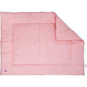 Jollein Boxkleed 80x100cm Mini Dots - Blush Pink