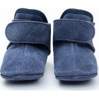 Lodger Leren Babyslofjes 15-18m Denim Blue