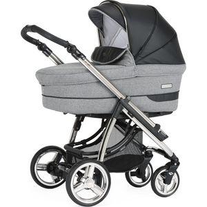 BebeCar Pack Ip-Op XL Kinderwagen - Grijs/Zwart