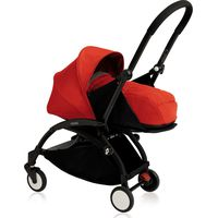 Yoyo+ Black Frame met Newborn Pack - Red
