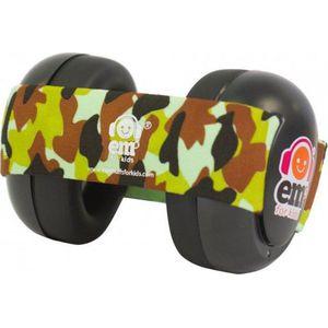 Em's 4 Bubs Gehoorbeschermers - Black Army Camo