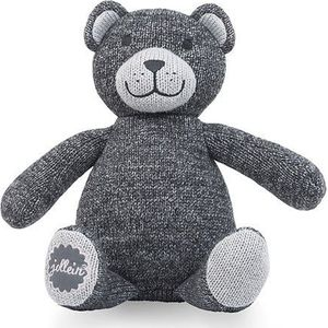Knuffel Natural Knit Bear Anthracite