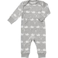 Fresk Pyjama - Whale Dawn Grey 3-6 m