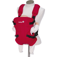 Safety 1st Mimoso Draagzak Plain Red