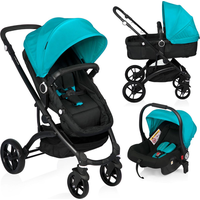 Baninni Kinderwagen Citywalker 3in1 - Black Blue