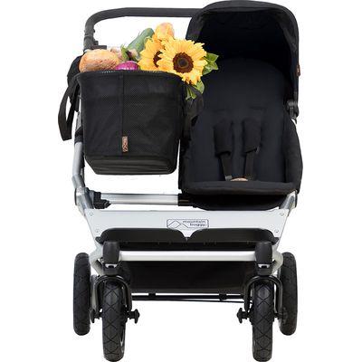 Mountain Buggy Duet As Single V3 + Familypack - Black