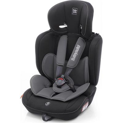 Babyauto Autostoel Galia Groep 1/2/3 - Zwart/Grijs