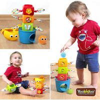 Yookidoo Stack Flap Tumble Speeltoren