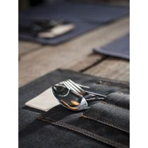 placemat denim zwart