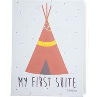Childhome Schilderij 30x40 - My First Suite