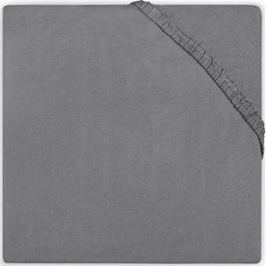 Little Lemonade Hoeslaken Badstof 60x120cm - Dark Grey