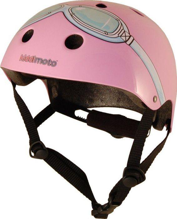 Kiddimoto Helm Pink Goggle M