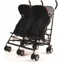 Kees Tweeling Buggy Side-by-Side - Black
