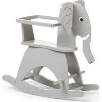 Childhome Schommelolifant Met Beugel - Grijs