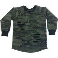 KMDB Shirt Lange Mouw Maat 86 Julliet - Camo