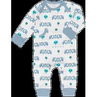 Fresk Pyjama Elefant Blauw 3-6mnd (UL)