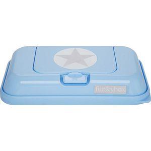 Funkybox TO GO Lichtblauw Zilver Ster