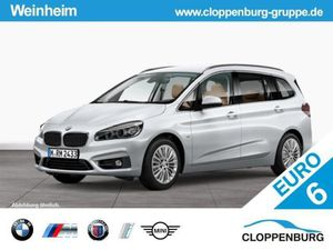 BMW 220 i Gran Tourer Luxury Line LED RFK Navi AHK
