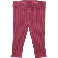 Jollein Legging 62/68 - Rib Maroon Red