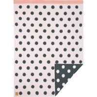Lässig Wiegdeken Knitted Blanket Little Chums Stars - Light Pink