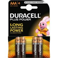 Duracell Batterij Plus AAA