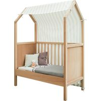 Bopita Doek Speelhuisje Bed Home - Naturel/Wit