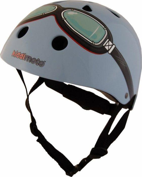 Kiddimoto Helm Blue Goggle M