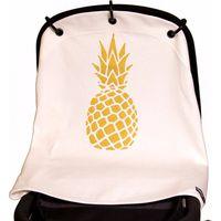 Kurtis Zonnekap Universele Cover - Pineapple White/Gold