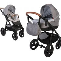 Bo Jungle Kinderwagen 4-in-1 - Light Grey