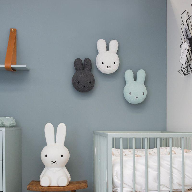 Foto Op Wanddecoratie.Nijntje Wanddecoratie Wit Bij Babyhuis Casita