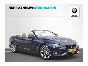BMW 4 Serie 420d Cabrio High Executive Luxury Line Individual Aut