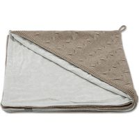 Baby's Only Omslagdoek Kabel Chenille - Taupe