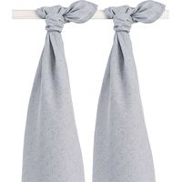 Jollein Hydrofiel Multidoek - Mini Dots Mist Grey