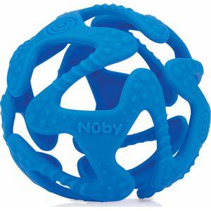 Nuby Flexibele Silicone Teething Ball - Blue