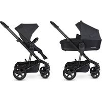 Easywalker  Kinderwagen Harvey² - Night Black / Black Frame