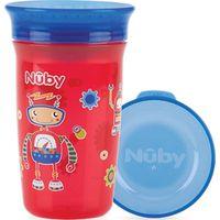 Nuby 360° Wonder Cup 300 ML - Rood/Blauw (UL)