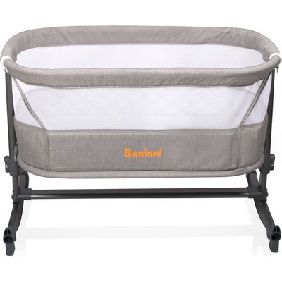 Baninni Bed Side Crib Nesso - Sand