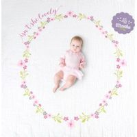Lulujo Swaddle &Cards - Isn't She Lovely