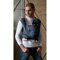 ByKay Draagdoek Woven Wrap Deluxe Dark Jeans Maat 6