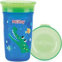 360° Wonder Cup 300 ML Blauw/Groen - Nuby