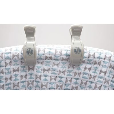 Sfeerfoto Swaddle Clip 4-Pack Mist - Lodger (excl. swaddle doek en maxi cosi)