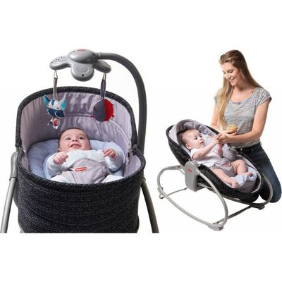 Tiny Love Rocker Napper 3-in-1 - Black