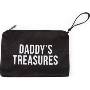 Childhome Daddys Clutch Bag - Black/White
