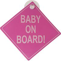 Baby On Board Bordje - Roze