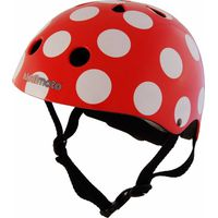 Kiddimoto Helm Red Dotty S
